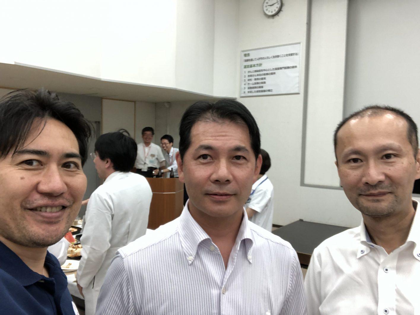 駒込病院の医療連携の会に参加しました。